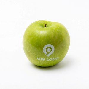 Appel met logo